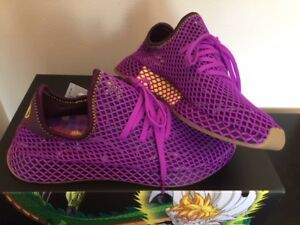 f7c8bdb0f9c537 Adidas x Dragon Ball Z Deerupt Runner Dragonball Son Gohan Purple ...