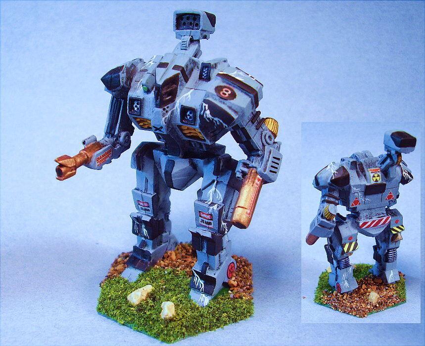 Battletech painted Battleaxe battlemech  BG