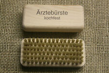 2 x Ärztebürste, Nagelbürste, Handwaschbürste, Handbürste, Naturborste, Holz,neu