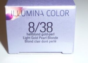 image is loading wella illumina color 8 38 light blonde gold - Coloration Illumina