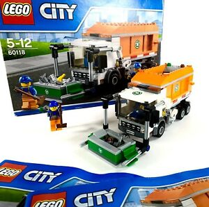 Lego-Garbage-Truck-60118-City-With-Box-Manuals