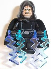 Lego Chancellor Palpatine in Star Wars Robes & Lightning Lego Custom Mini Figure
