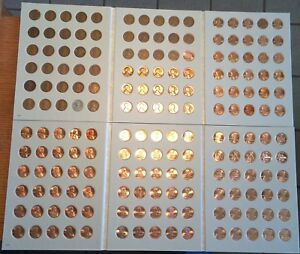 1909-2019-Lincoln-Wheat-Cent-Collection-BU-Memorial-1c-Set-FREE-PRIORITY-SHIP