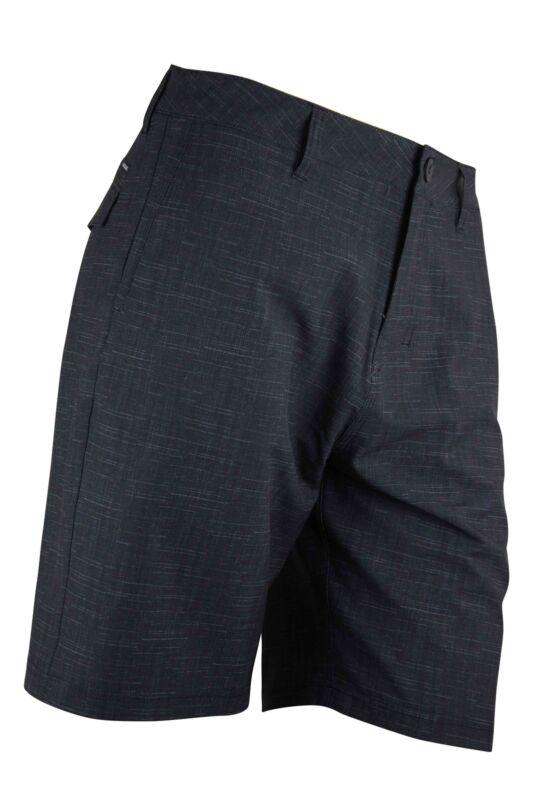 "SHORT da Uomo Jeans Crosshatch NAymar Lavaggio Scuro Tinta più tasche-Pantaloncini-Girovita 30/"""