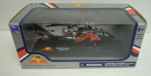 Bell Cobra TAH-1F The Flying Bulls , New Ray , ca.1/110, Fertigmodell,*NEU*