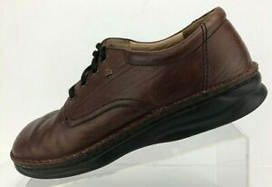 Finn-Comfort-Oxfords-Brown-Leather-Lace-Up-Casual-Shoes-Comfort-Mens-UK-9-US-9-5