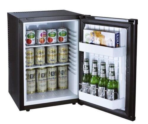 Kühlschrank geräuschlos leise schwarz Büro Camping Hotel Wein Mini Kühlschrank 4