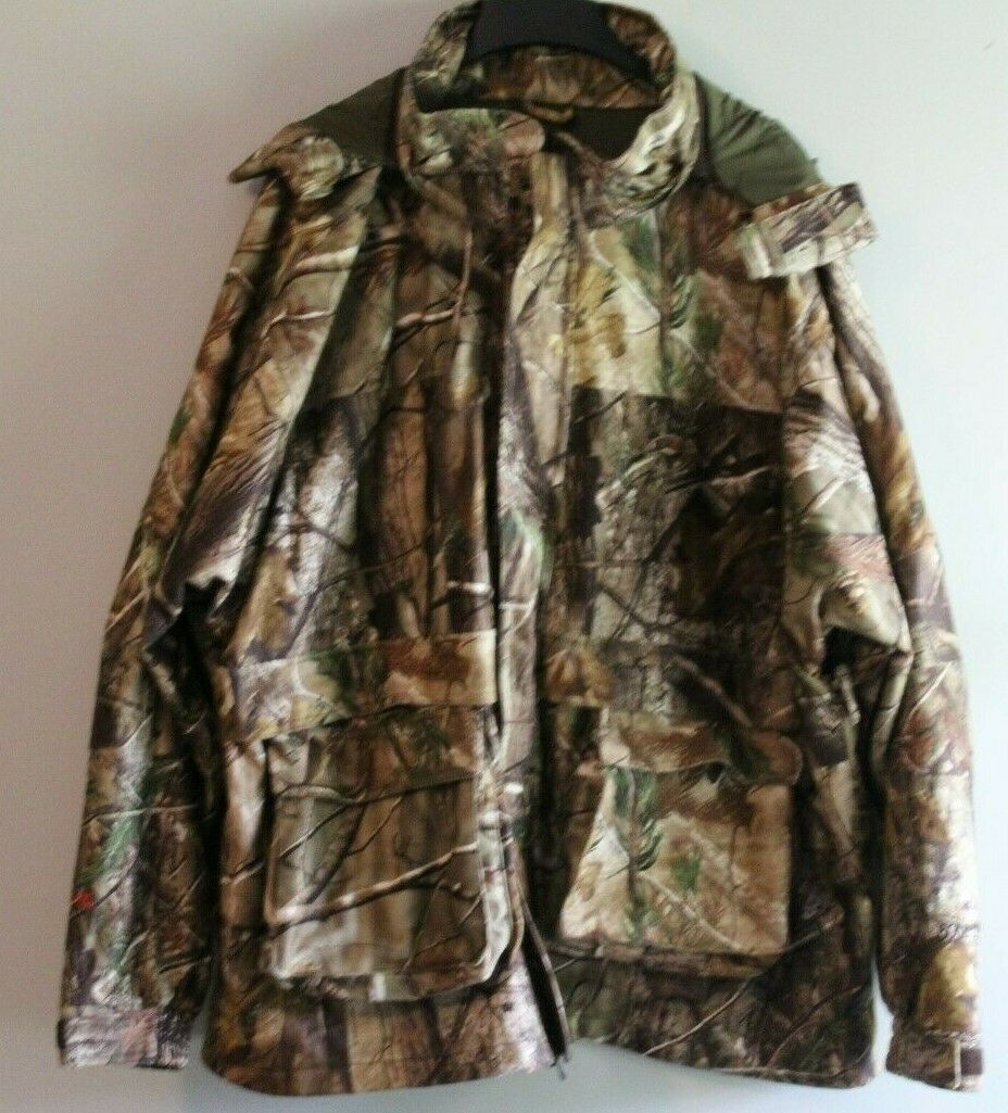 Men's RedHead BoneDry  camo hooded hunting coat size 3X L  free and fast delivery available