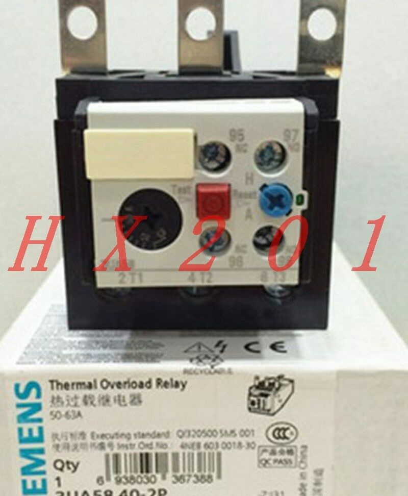 ONE Brand NEW SIEMENS Thermal Overload Relay 3UA5840-2P 50-60A