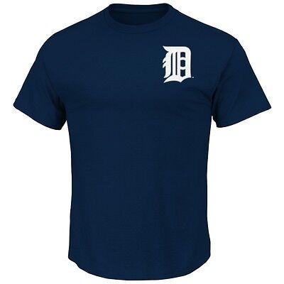 Fanartikel Mlb Baseball Detroit Tigers T-shirt Wordmark Von Majestic Hindernis Entfernen