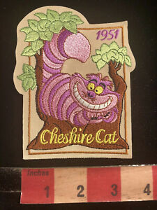 Cheshire Cat Cartoon Movie Embroidered Iron On Patch Alice In Wonderland