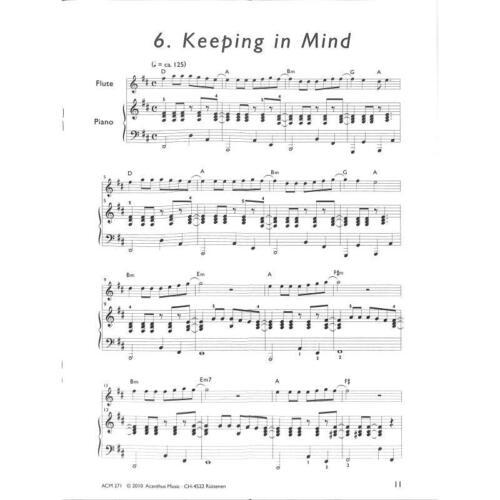 Musiknoten Mini Pictures 2 Flöte Noten