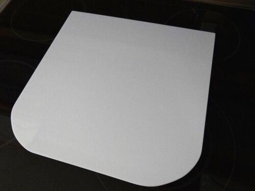 TM6 TM5 Thermomix Plexiglas Gleitbrett Gleiter Slider Weiß Hochglanz Optik f