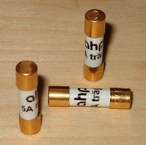 1x-T-6-3A-ahp-Fusible-Dorado-6-3x32mm-Fusible-Fusible-de-Retraso