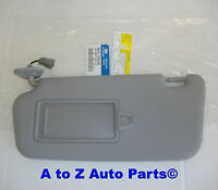 2008-2011 Hyundai Accent Driver Side Grey Sun Visor, Hyundai