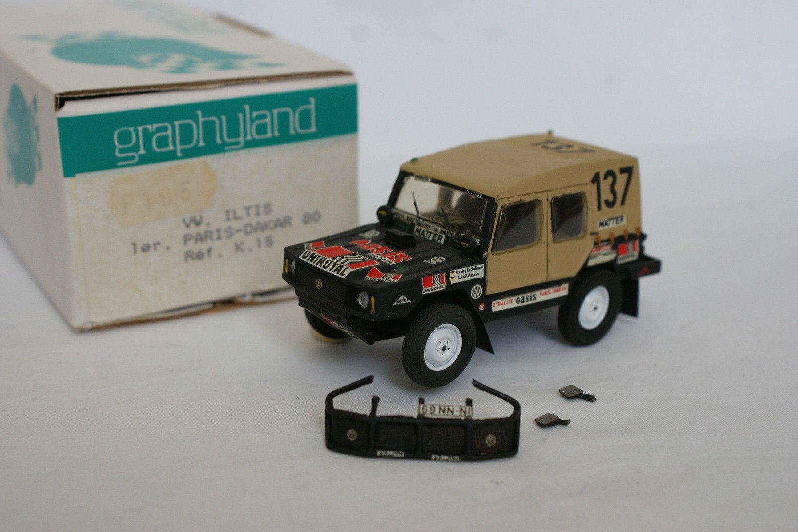 Graphyland Kit montato 1 43 - - - VW Iltis Winner Parigi Dakar 1980 8a4dd3
