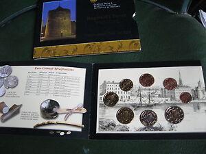 IRLANDE Série BU 2004 de 8 Monnaies de la 1 Ct à 2 €