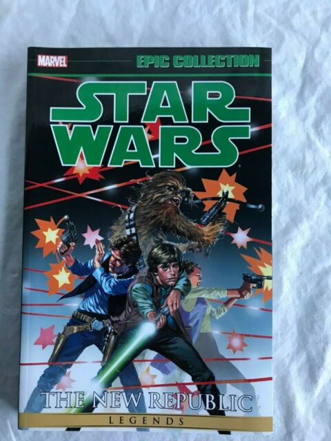 NEW!! Marvel Epic Collections Star Wars The New Republic Vol. 1 Comic Book