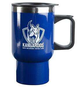 AFL-Coffee-Travel-Mug-North-Melbourne-Kangaroos-Thermal-Drink-Cup-With-Lid
