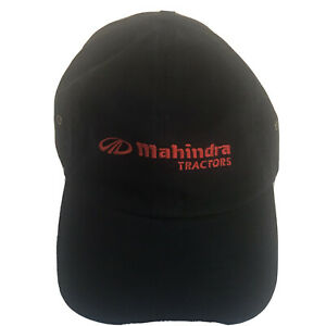 Vintage Mahindra Tractors Grove Equip Service Embroidered Golf Strapback Hat (K)