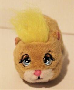 Zhu Zhu Pets Hamster Furry Tan Hamster Yellow Hair Peanut Birthmark Electronic Ebay