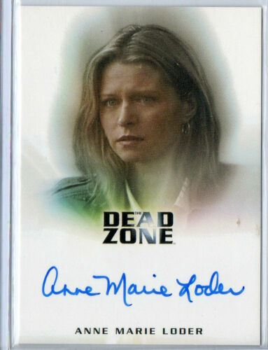 The Dead Zone Seasons 1/&2 /& Expansion Autograph Card Selection NM Rittenhouse