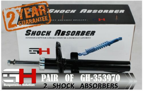 2 BRAND NEW FRONT SHOCK ABSORBERS FOR RENAULT MEGANE II//GH-353970K//