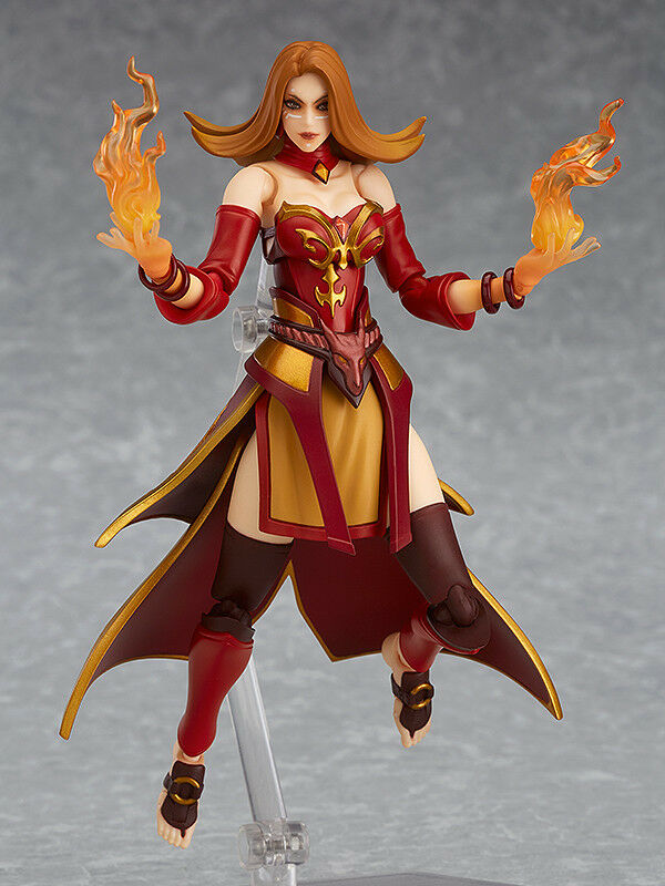 DOTA 2 - Lina Figma Action Figure No. 338 (Good  Smile Company)  haute qualité authentique