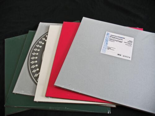 Creative Memories 12x12 paper packs NIP Most Solid Colors VARIETY COLORS
