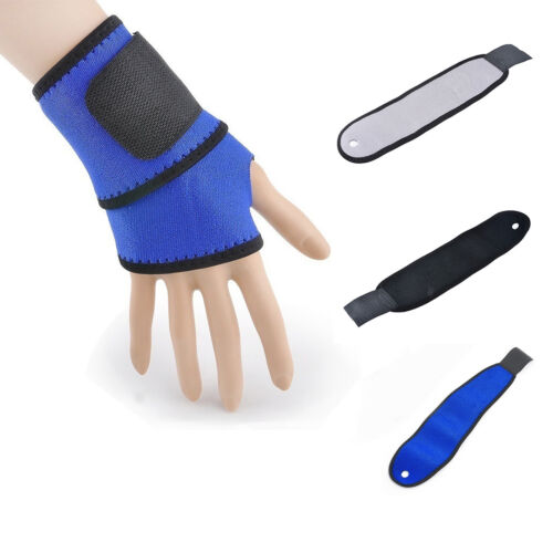 1pc Weight Lifting Strap Gym Training Sports Fitness Wrist Wrap Workout Exercise