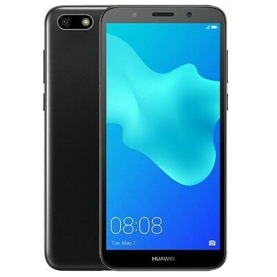 Cellulare Smarphone HUAWEI Y5 2018 BLACK NERO Smartphone da 16 Gb Black BRAND