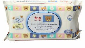 Salviettine-Trudi-Detergenti-Baby-Care-Nettare-Fiori-Igiene-del-Bambino-12x72