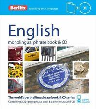 Berlitz English Phrase Book and CD (Phrase Book & CD), Berlitz Publishing, New B