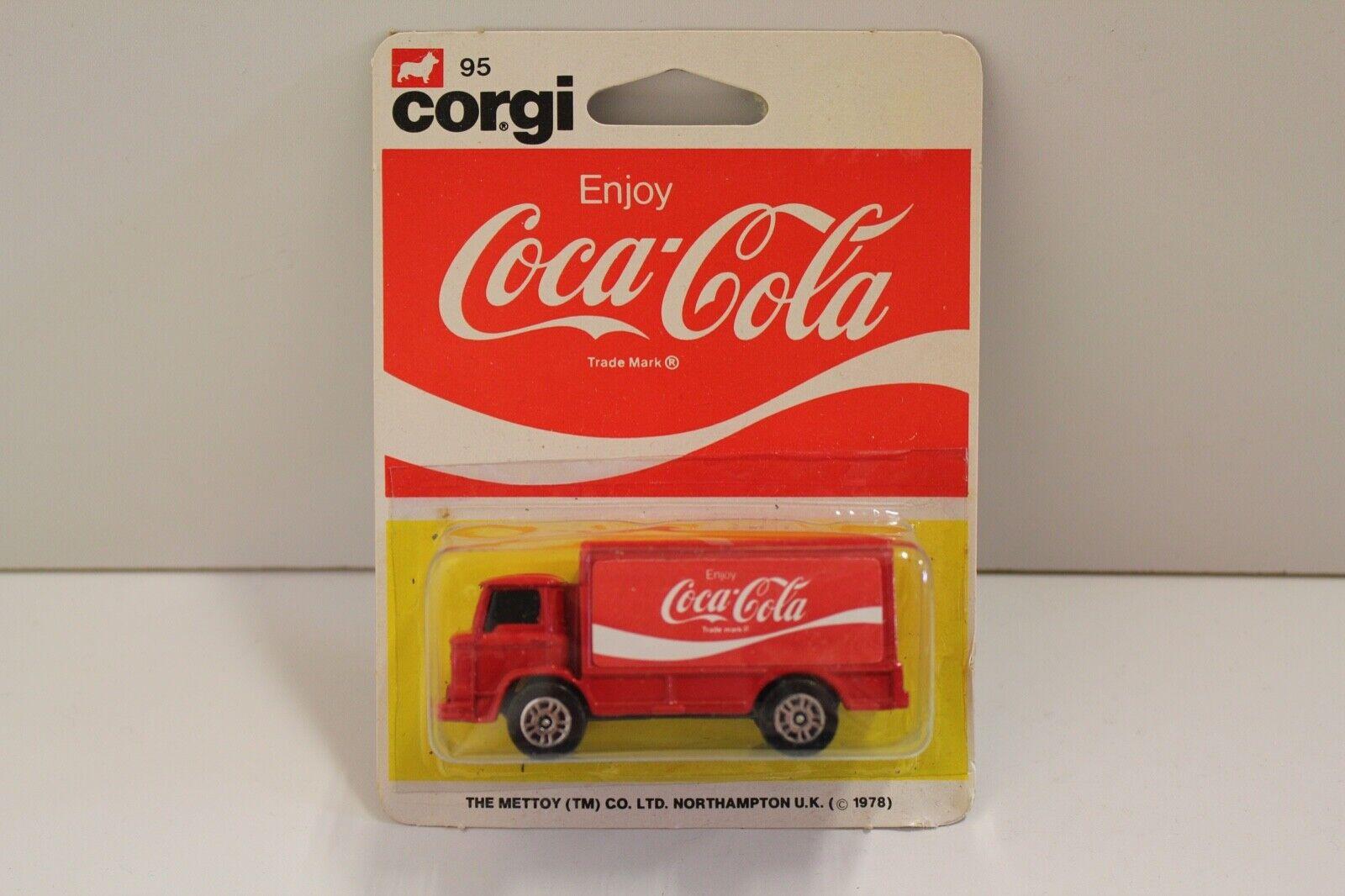 Corgi Junior No  95  Coca-Cola Leyland Terrier  - Red (UNOPENED Original 1978)