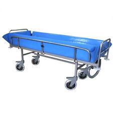 Duschwagen  Duschliege  Pflegeliege INOX  Behandlungsliege  Praxisliege INOX