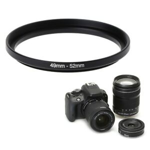 49mm-To-52mm-Metal-Step-Up-Rings-Lens-Adapter-Filter-Camera-Tool-Accessories-New