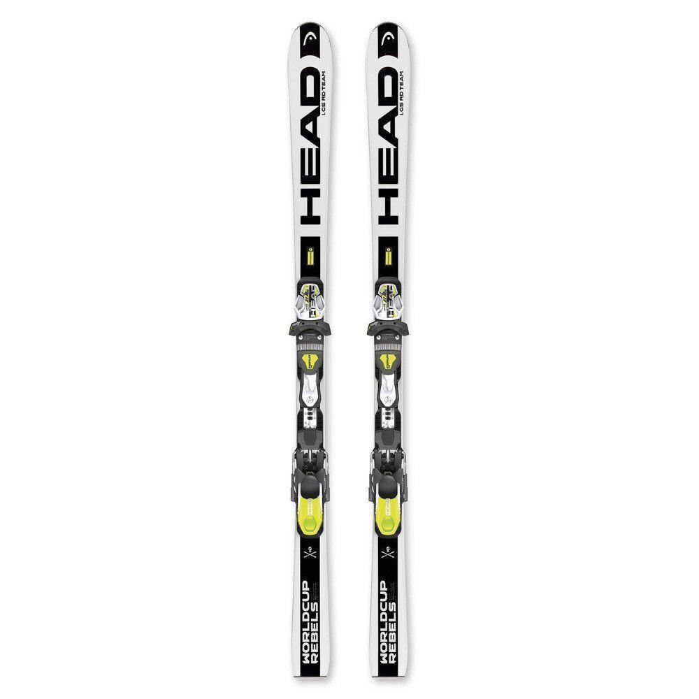 2016 Head WC Rebels iGS RD Team SW 123cm Junior Skis w  EVO 9 Binding