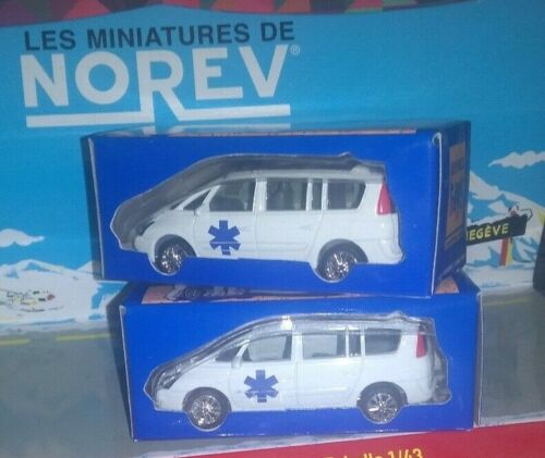 NOREV 1//64 RENAULT TOYS ESPACE AMBULANCE NEUF EN BOITE
