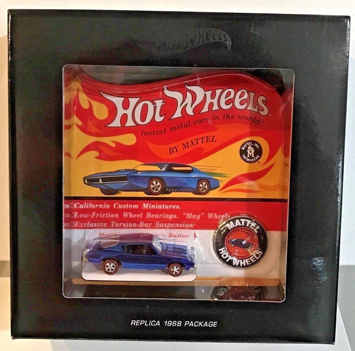 disfrutando de sus compras Hot Wheels 2018 rojo Line Line Line Club RLC Original 16-Azul Personalizado Barracuda   'd 6000  ahorrar en el despacho