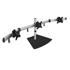 SIIG-Premium-Aluminum-Triple-Monitor-Stand-Fully-Adjustable-13-034-to-27-034-17-6-lbs