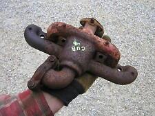 Farmall Cub Lo Boy Low Boy Tractor Underslung Downward Exhaust Manifold