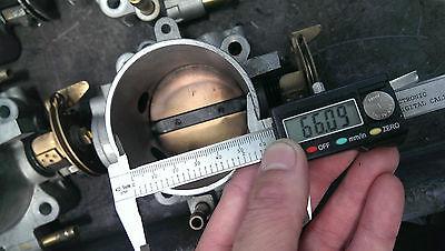 Used Honda 66MM Throttle body S2000 Type R INTEGRA CIVIC F20 F22 B18C B18C-R JDM