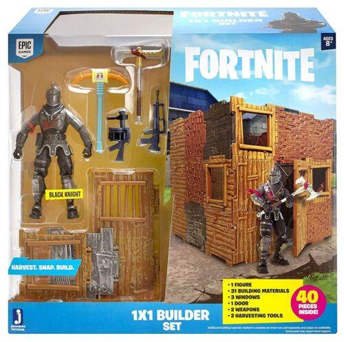 Jazwares 100/% Officiel-Fortnite série 2 chevalier noir 1 PAR 1 Builder Set-Nouveau
