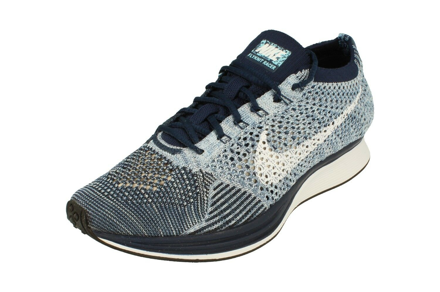 Nike Flyknit Racer Mens Running Trainers 862713 Sneakers Shoes 401