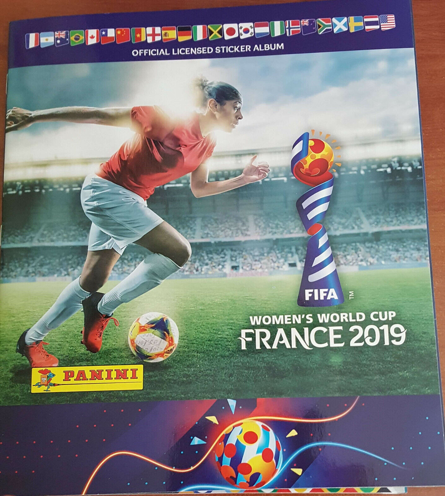 FIFA mujer 'S WORLD CUP FRANCE 2019 - Álbum completo