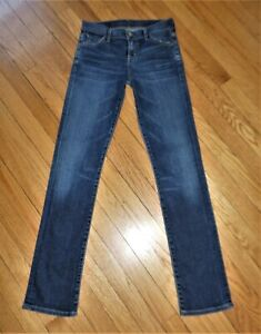 Citizens-Of-Humanity-Ava-Low-Rise-Straight-Leg-Stretch-Jeans-25-x-31-Totally-EUC