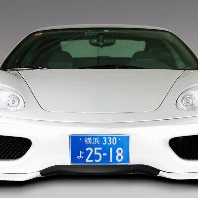 2x Type R Honda JDM License Plate Frame Pair Japan Civic Integra NSX Accord FD2