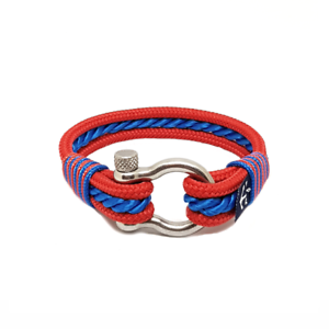 Nautical-Rope-Bracelet-Sailing-Mens-Womens-Handmade-Summer-bracelet-RED-BLUE
