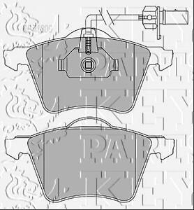 Key-Parts-Front-Disc-Brake-Pad-Set-Pads-KBP1800-GENUINE-5-YEAR-WARRANTY