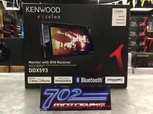 Details about NEW KENWOOD EXCELON DDX-593 MODEL DDX593 DOUBLE DIN DVD  RECEIVER BLUETOOTH / HD